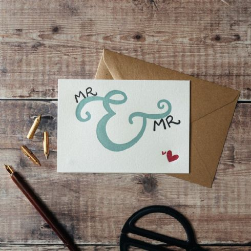 in klöver | ni design - Hunter Paper Co - Mr & Mr Greetings Card